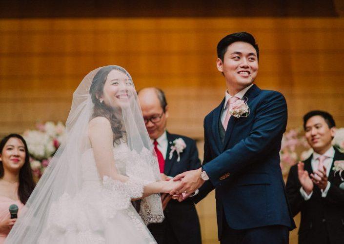 Church Wedding   Christine & WC